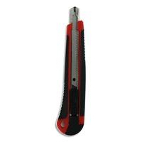 5 ETOILES Cutter ergonomique autobloquant bimati�re pr lame 9mm.