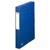 ELBA Boîte de classement EUROFOLIO carte lustrée, dos 4 cm, fermeture élastique, 24x32 cm, coloris bleu