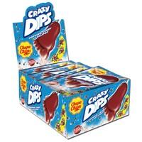 Chupa Chups Crazy Dips Cola Lutscher Schleckpulver 24St