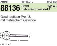 Gewindeösen Typ 48 M5x30D8