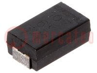 Capacitor: polymer; 100uF; 6.3VDC; Case: D; 2917; ESR:15mΩ; A700; SMD