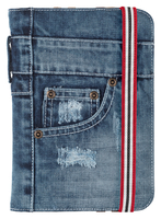 """FOLIO STAND JEANS FOR 7-8"""" TABLETS"""