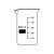 Becherglas hohe Form, 25ml, BORO3.3
