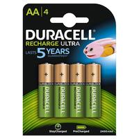 DURACELL PreCharged Akkus AA 2.400 mAh 4er- Pack
