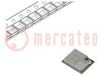 Modul: WiFi; FTP, HTTP, IEEE 802.11b/g/n, IPv4,TCP, UDP; SMD; IPEX