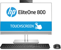 "HP 800 G3 3.4GHz i5-7500 23"" 1920 x 1080Pixels Touchscreen Zilver Alles-in-één-pc"