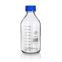Laborflasche Boro3.3 klar, 2000ml