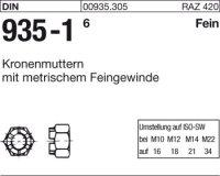 Kronenmuttern M33x1,5