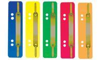 ELBA Heftstreifen, 35 x 150 mm, PP, grün, Metall-Deckleiste (61275905)