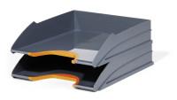 DURABLE Briefablageschale VARICOLOR® TRAY SET DUO, 2 Stück, orange