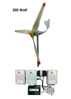 300W grid connected wind turbine system for your company or house