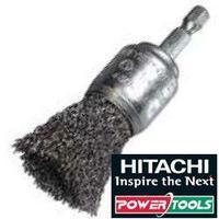 Bildbeschreibung zu Hitachi Bürste Ø 25mm Pinselbürste mit Stahldraht, 751324