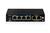 DIGITUS Fast Ethernet PoE af/at 4-Port Switch, DIP Schalter für VLAN Funktion, 2-port 10/100Mbps uplink / 60W
