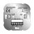 Produktabbildung - Einsatz unterputz elektronischer Jalousieschalter - Elso