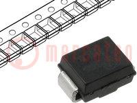 Diodo: rectificador de barrera Schottky; SMD; 30V; 1A; SMB