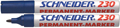 Schneider permanent marker Maxx 230 blauw