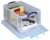 Really Useful Box 64 liter met opening aan de voorkant, transparant