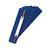 Heftstreifen, PP, 34 x 150 mm, blau, Polybeutel mit 250 Stück