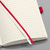 Sigel Conceptum Notebook Leather Look Soft Cover 80gsm 194pp Ruled A4 Red Ref CO315