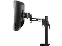 Monitor Stand Z1 with USB-Hub Black Table brackets, Various