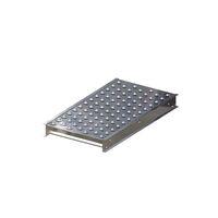 Kugeltisch, Bauhöhe 110 mm, Bahnbreite 500 mm