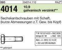 ISO4014 M20x85
