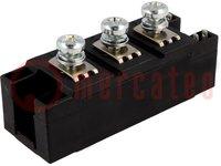 Módulo: diodos; doble serial; 1,2kV; 190A; Y4-M6; V: Y4; Ufmax:1,15V