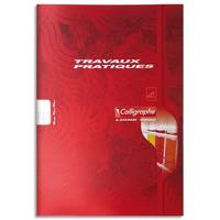 CALLIGRAPHE Cahier travaux pratiques piqûre 70g 48 pages grands carreaux+unie format A4-CALLIGRAPHE 7000