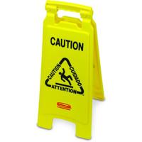Rubbermaid Warnschild mehrsprachig Caution 67,3cm