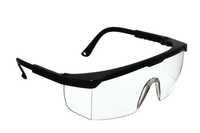 SINOstar Schutzbrille mit Seitenschutz, Typ S 511, Fassung schwarz/Gläser klar, Kennz.:2-1.2 SINO 1F