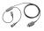 Trainingskabel für den Anschluss von 2 Headsets (2 Hörwege, Sprechweg umschaltbar), nur für 4-PIN-QD Y-Kabel