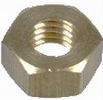 Zeskantmoer DIN 934, kuip,roestvrijstaal / inox A2