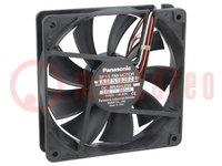 Ventilatore: DC; assiale; 24VDC; 120x120x25mm; 195m3/h; 41,5dBA