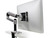 Ergotron LX Desk Mount LCD Arm für Tischmontage, silber / schwarz