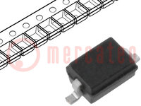 Diode: transil; 160W; 18.9V; 5A; asymmetric, bidirectional; SOD323