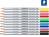karat® aquarell 125 Hochwertiger, wasservermalbarer Farbstift lichtgelb