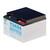 Yuasa NPC24-12I loodbatterij 12 volt, 24 Ah