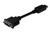 DisplayPort adapter cable. DP - DVI (24+5) M/F. 0.15m.w/interlock. DP 1.2 compatible.