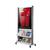 Mobiler Prospektständer, fahrbar mit großem Plakatrahmen