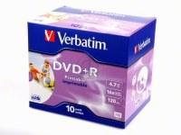 VERBATIM DVD+R 4 - 43508
