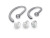 Fit Kit inkl. Ohrbügeln und Ohrstöpseln in verschiedenen Größen, Anleitung für optimales Anpassen des Headsets CS540/WH500/W740/W440