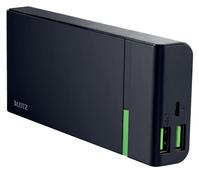 POWERPACK LEITZ COMPLETE USB 10400MAH ZWART