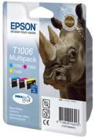 Epson Tintenpatrone Multipack 3-farbig T1006 DURABrite Ultra Ink