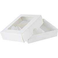 Visitenkartenbox Aus Karton 290g M 114x91x30 Weiß Boden