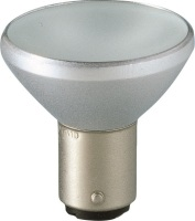 12V 20W Ba15d 32º 6435M Frosted with Frontglass