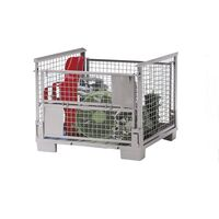 Collapsible stacking box, LxWxH 1200 x 800 x 970 mm