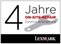 Lexmark X651/X652 4 Jahre (gesamt) On-Site-Repair-Garantie nächster Arbeitstag