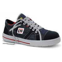 ELTEN L10 SENSATION Halbschuh, ESD-fähig, Textil & Nubukleder, jeans, Gr. 37-47 Version: 44 - Größe 44