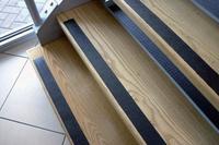 COBA Grip-Foot Tape Anti-slip Grit Surface Hard-wearing W25mmxL18.3m Black Mat Ref GF010001