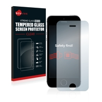 Savvies® Xtreme Glass HD33 Clear Panzerglasfolie für Apple iPhone SE